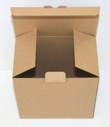 Postázó, csomagoló doboz (175mm * 165 mm * 100mm)